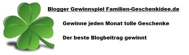 Blogger Gewinnspiel